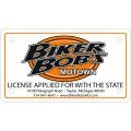 Custom Motorcycle License Plates