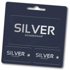 "Custom Full Color Plastic Membership Card Key Tags - 4-1/4"" x 4-1/4"" (Over-Laminated)"