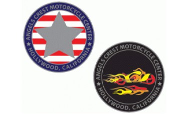 Motorcycle DomeCal Nameplates