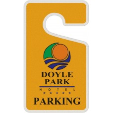 "Full Color Digital Reflective Parking Permit Hang Tags (2-3/4"" x 4-3/4"")"