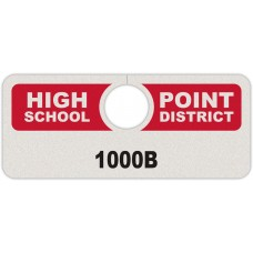 "Full Color Digital Reflective Parking Permit Hang Tags (4-3/4"" x 2"")"