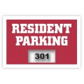 Inside Application Parking Stickers