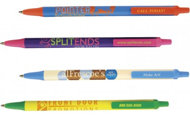 Bic Clic Stic Pens - Custom Imprinted