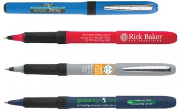 Bic Grip Roller Pens - Custom Imprinted