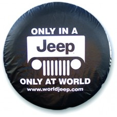 Custom Printed Spare Tire Covers