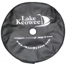 Custom Printed Spare Tire Covers With Camera Hole