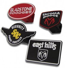 3-D Molded Raised Trailer Hitch Covers