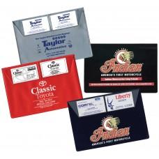 Deluxe Vinyl Document Folders - Standard 2-pocket