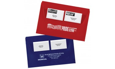 Deluxe Vinyl Document Folders - Expanded with Gusset