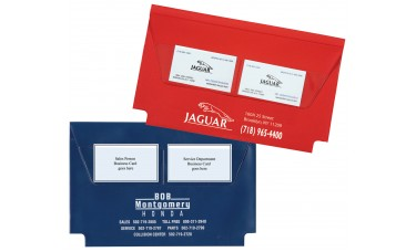 Deluxe Vinyl Document Folders - Expanded without Gusset