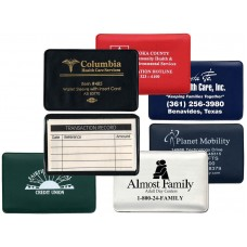 """Credit Card Sized Holders Holders w/Insert Cards - 3-3/4""""(W) x 2-3/8""""(H) - Opens on Short Side"""
