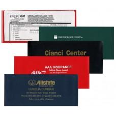 "Insurance Card Holders - 9-1/8""(W) x 4""(H) - Opens on Long Side - #10 Envelope Size"