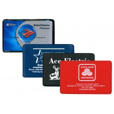 """Credit Card Sized Holders Holders - 3-3/4""""(W) x 2-3/8""""(H) - Opens on Short Side"""