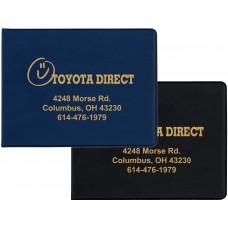 "Hard Cover Folding Insurance Card Holders - 5-7/8""(W) x 4-1/2""(H)"