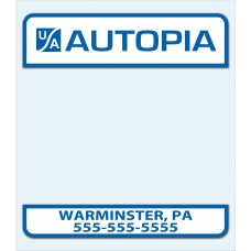 Report of Sale Stickers Pennsylvania