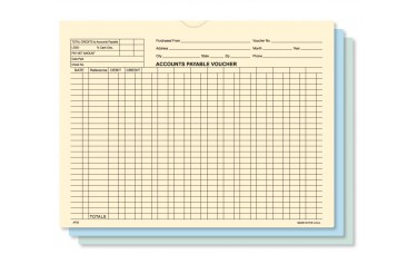 Accounts Payable Voucher Envelopes