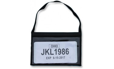 Tag Bag License Plate Holder