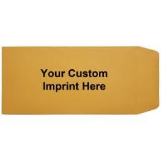 Custom Moist Seal Brown Kraft License Plate Envelopes (Package of 500)