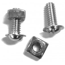 License Plate Nuts and Bolts (Box of 100)