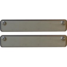 Magnetized Rubber Dealer Magnets (Set of 2)