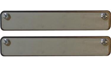Magnetized Rubber Dealer Magnets (Set of 2)