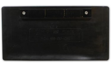 Magna-Rubber License Plate Holder
