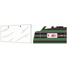 License Plate Protector Jackets (Package of 50)