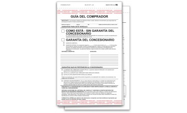 Buyers Guide - As Is - Spanish (Package of 100)