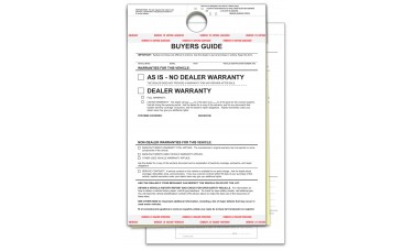 Hanging Buyers Guides (Package of 100)