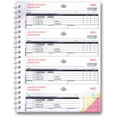 Fuel Purchase Order Books, 3-Part - Custom