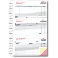 Purchase Order Books, 3-Part - Custom