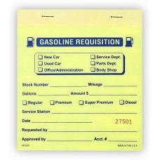 Gas Requisition Books