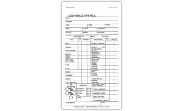 Used Vehicle Appraisal Books