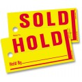 Sold/Hold Tags