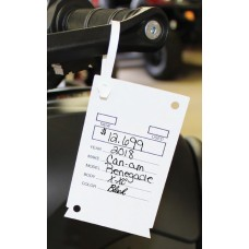 Versa-Tags Utility Tag Key Tags - Stock Imprint (Box of 200)