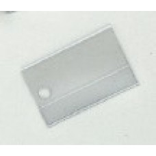 Plastic Covers for Mini Paper Key Tags by Nabco (Package of 250)