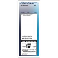"Custom Full Color Digital Outdoor Application Dealership Laser Window Labels - 4-1/4"" x 11"" (Package of 100)"