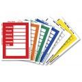 """KLEER-BAK """"Clear Back"""" Window Sticker Tickets"""
