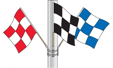 Checkered Flag Cluster Sets Without Hardware