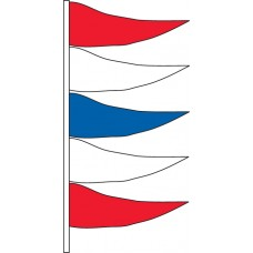 Non Fluorescent Antenna Pennants (Sold by the Dozen)