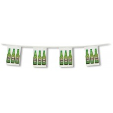 """Custom Full Color Rectangle Pennant Strings - 9"""" x 12"""" (Two-Sided Imprint)"""