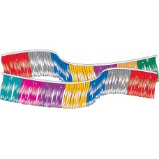 Metallic Fringe Streamers