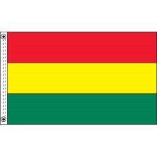 3ft. x 5ft. Nylon Tricolor Flag with 3 Solid Colors