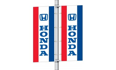 Interceptor Flag with Auto Logo Single Faced 3ft. x 8ft.