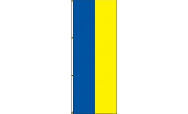 Interceptor Flag Bicolor with 2 Solid Colors 3ft. x 8ft.