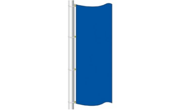 Free Flying Flag Solid Color 3ft. x 8ft.