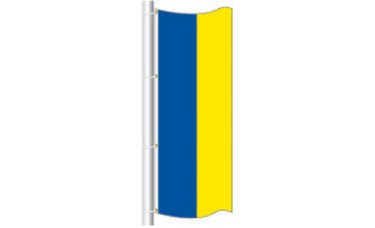 Free Flying Flag Bicolor with 2 Solid Colors 3ft. x 8ft.