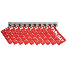 Cobra Key System License Plate Holders - 10 Unit