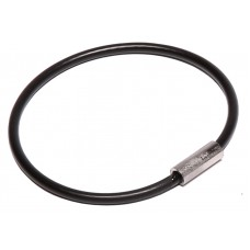 "Nylon Coated Cable Flexible Key Ring - 2"" Diameter"