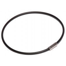 "Nylon Coated Cable Flexible Key Ring - 3"" Diameter"